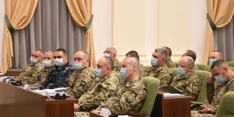 В Киеве проходит стратегический сбор руководства ВСУ