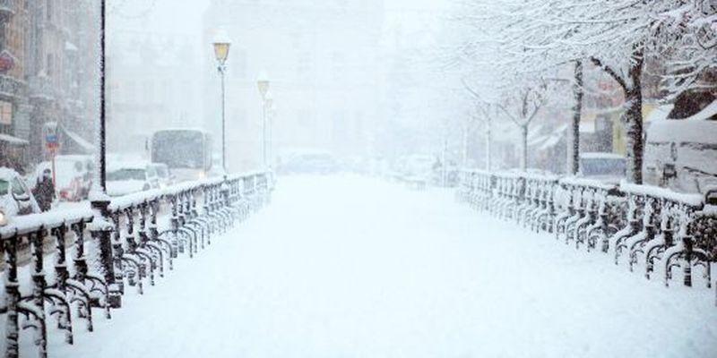 У Києві очікується мокрий сніг та похолодання