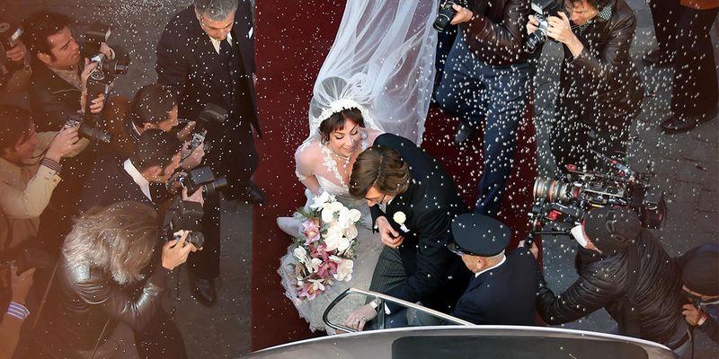 """Леди Гага готовится к венчанию на новых фото со съёмок """"Дом Гуччи"""" Ридли Скотта"""