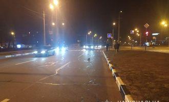 В Харькове авто насмерть сбило полицейского