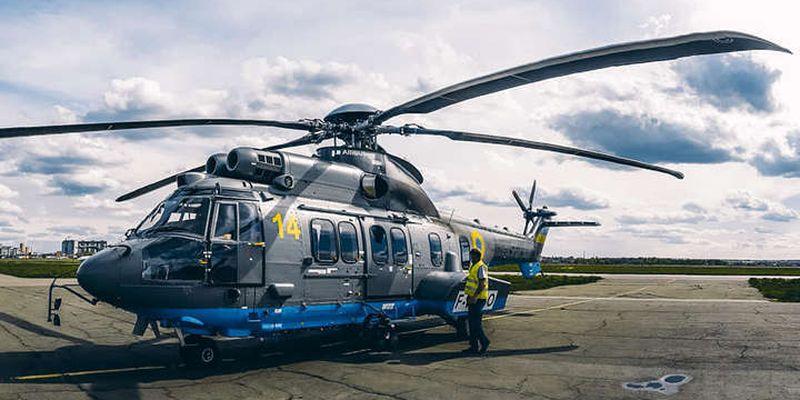 Нацгвардії передали 3-й вертоліт Airbus Н-225 французького виробництва