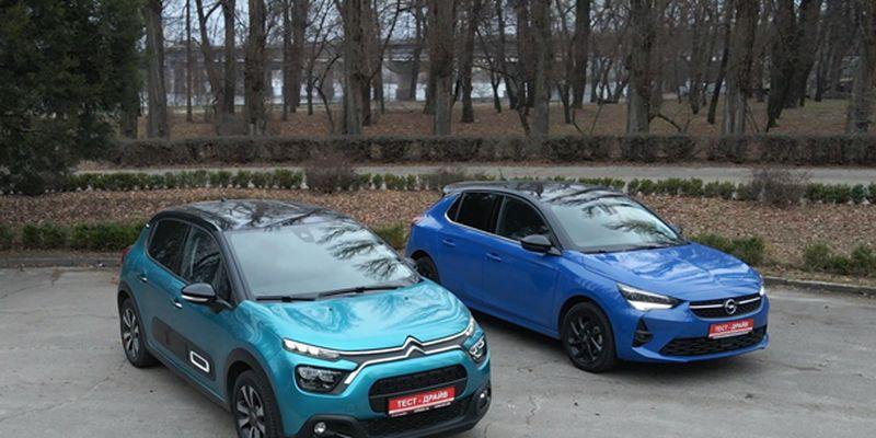 Чем Citroen С3 обходит Opel Corsa? Cравнение новинок