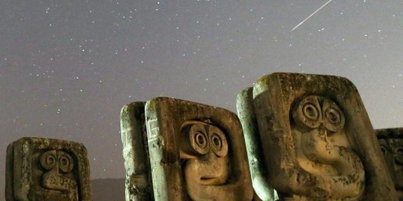 Зорепад Персеїди: показали фото найяскравішого метеоритного дощу