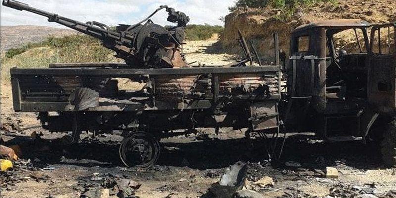 В Эфиопии уничтожена военная колонна ЧВК Вагнера