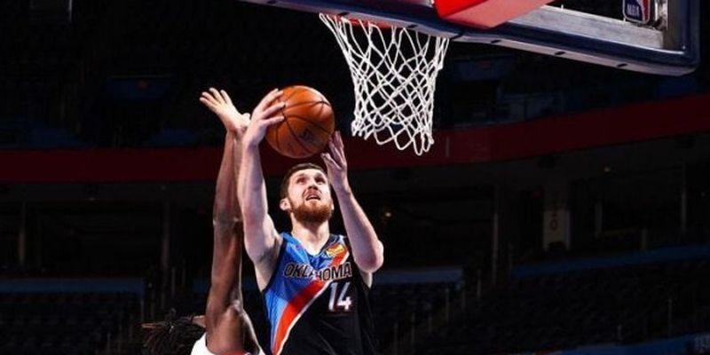Михайлюк вышел на четвертое место среди лучших украинских бомбардиров НБА