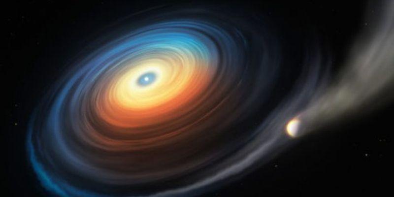 Ученые обнаружили рядом с белым карликом «испаряющуюся» планету