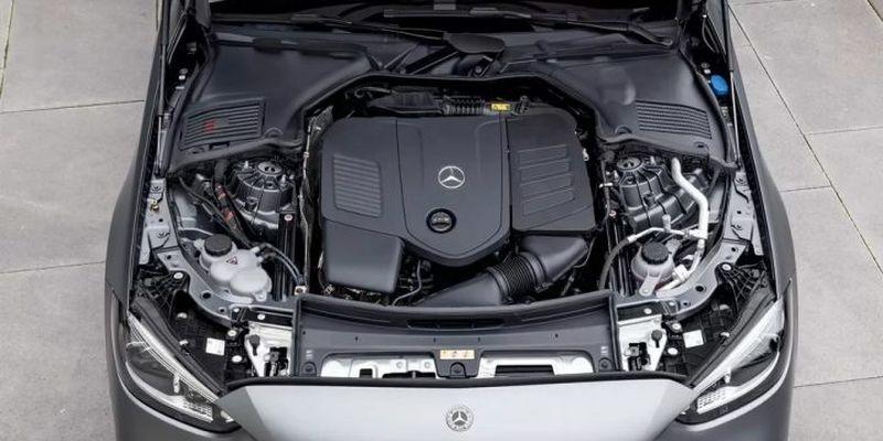 Mercedes-Benz C-Class 2022 оснастили сканером отпечатка пальцев