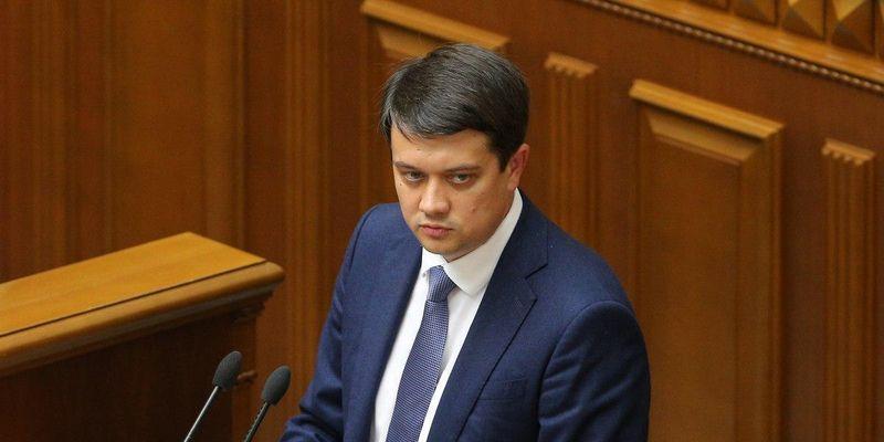 Разумков о вечеринке Тищенко: мне как председателю Рады стыдно за действия некоторых коллег