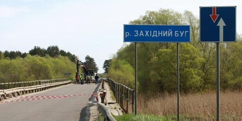 Мост через Западный Буг демонтируют и построят заново