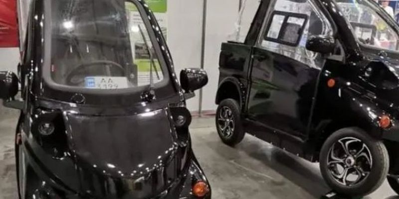 В Украине представили две модели электромобилей