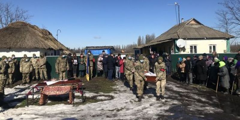 У Полтавській області прощаються із загиблим на Донбасі 19-річним бійцем