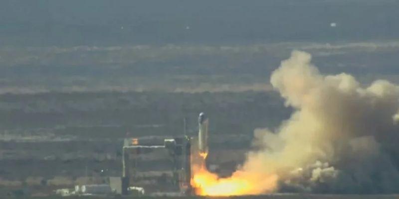 Конкурент SpaceX запускает ракету с новой капсулой для пассажиров