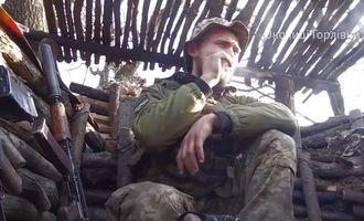 З'явилося відео вчорашнього обстрілу українських позицій на Донбасі