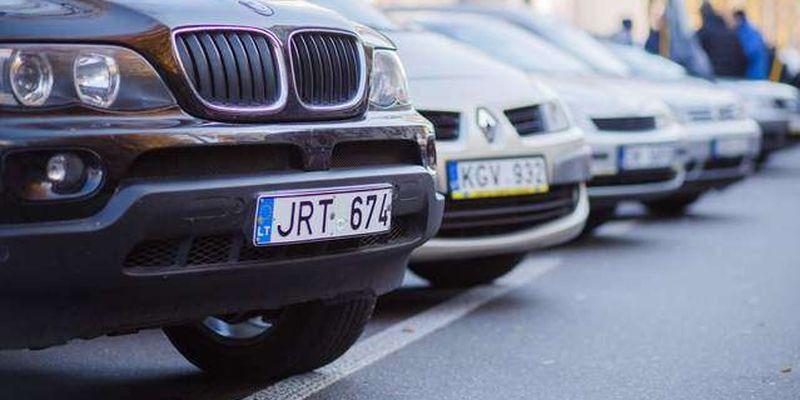 В Україні підготували закон по «євробляхам». До чого готуватися власникам нерозмитнених автомобілів