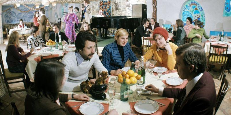 Самое дорогое из ресторана СССР