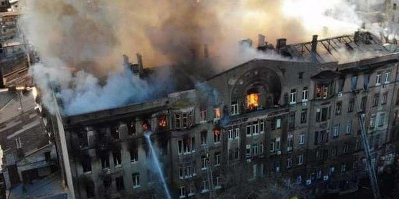 Пожежа в Одеському коледжі: саботаж з боку прокурора