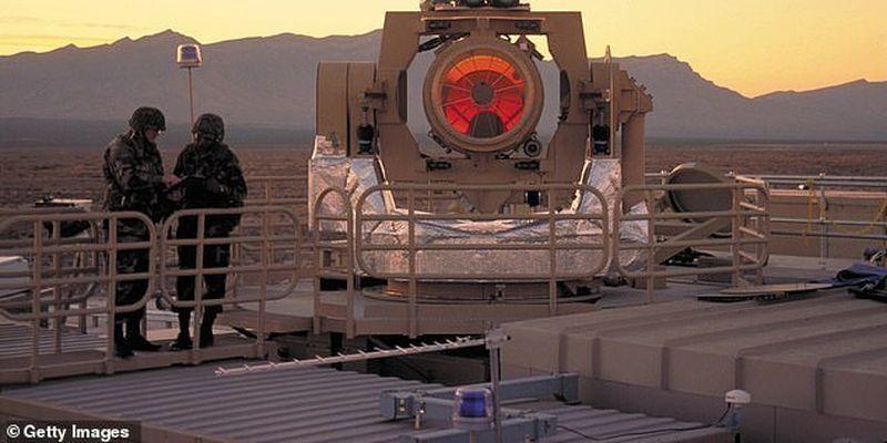 В США создают самый мощный лазер в истории - сможет испарять цели с помощью импульсов