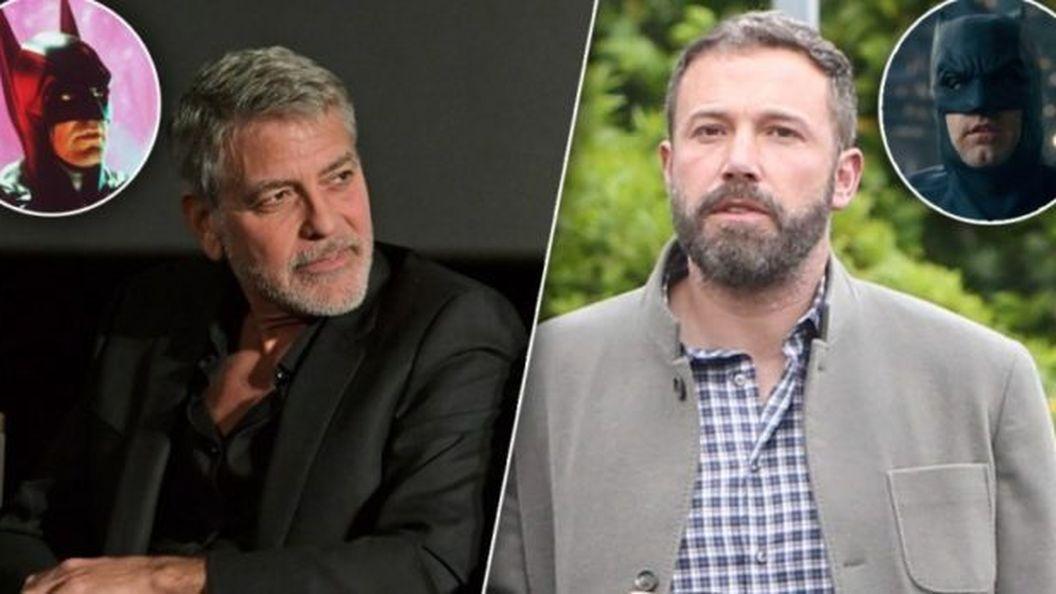 «Не делай этого!»: Джордж Клуни против того, чтобы Бен Аффлек играл Бэтмена