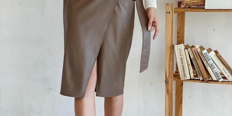 Неотразимые юбки с запахом взволнуют всех в 2021 году