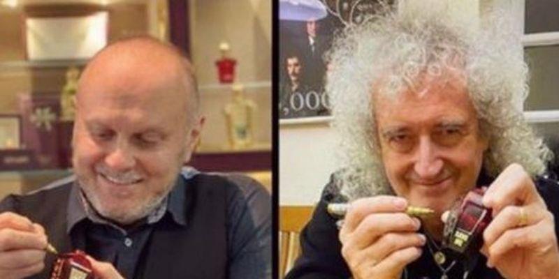 Гітарист Queen випустив шокуючі парфуми