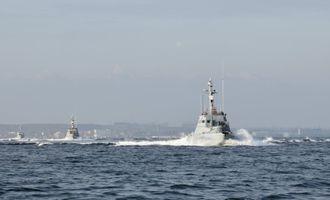 Российские катера устроили провокацию в Азовском море