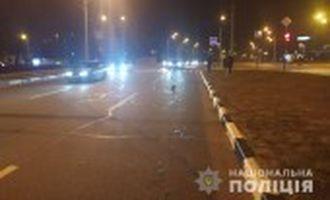У Харкові водій на смерть збив поліцейського, який переходив дорогу на червоне світло