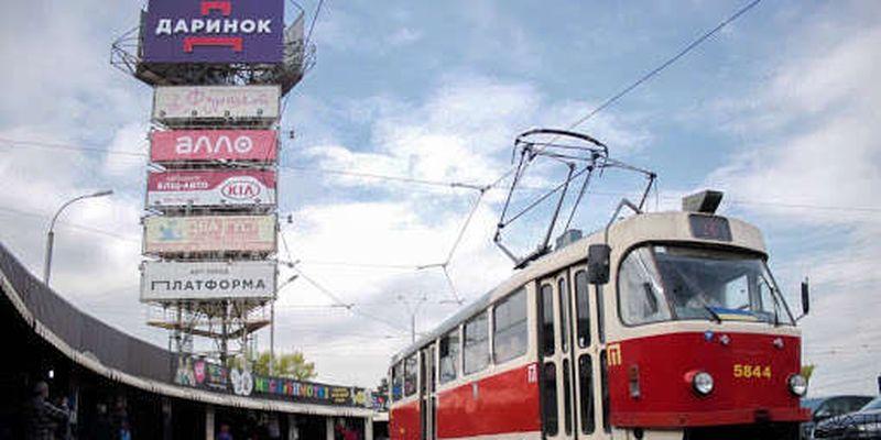 У Києві змінилися маршрути трамваїв