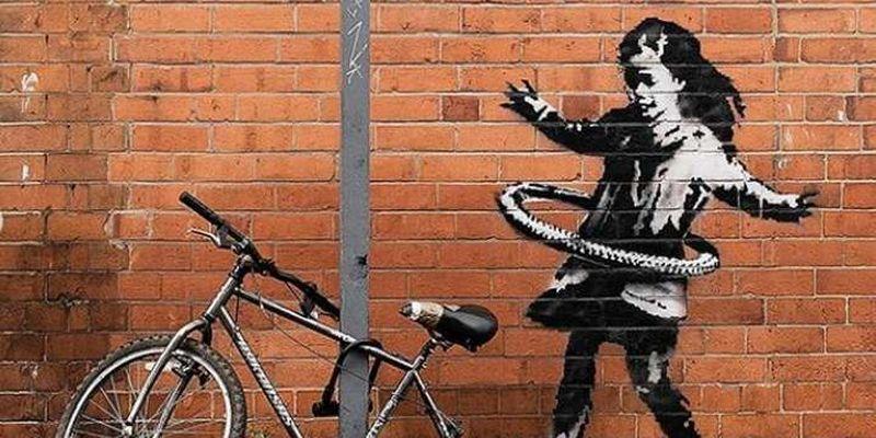 У Британії з'явилося нове графіті Бенксі