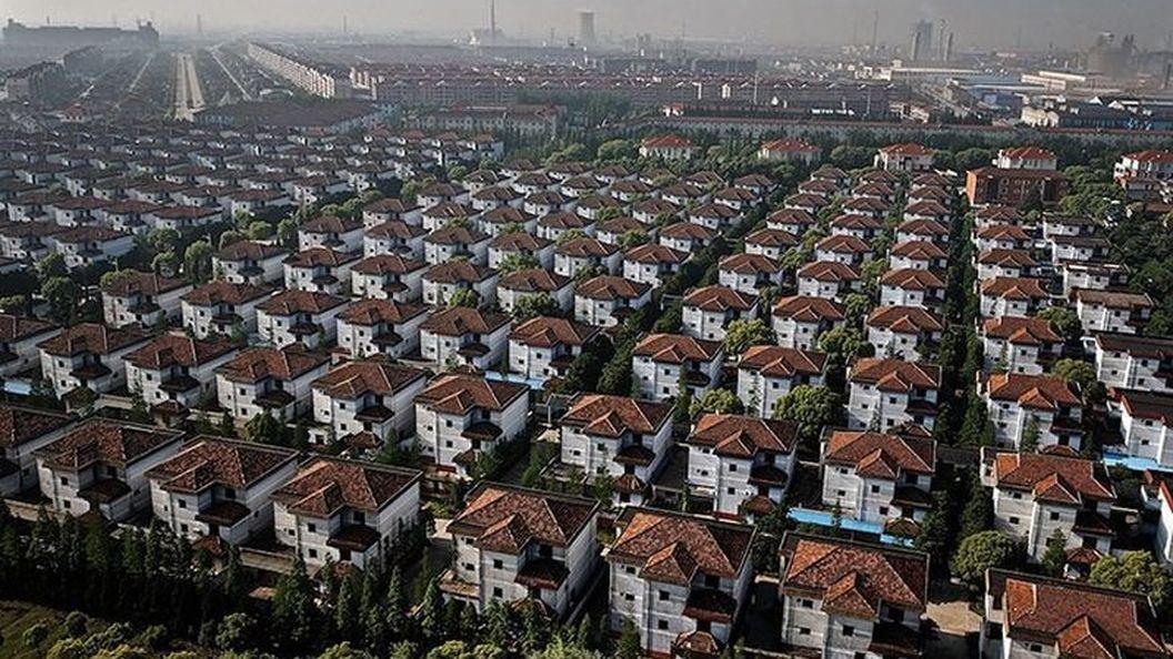 Город-призрак. Элитный китайский посёлок без жителей