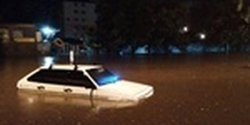 Одессу затопило после мощного ливня