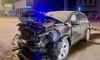 Acura протаранила Opel под Киевом: подробности и фото трагедии