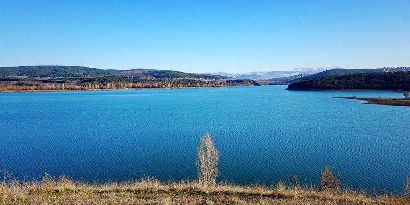 Симферопольское водохранилище полностью высохло: в сети появились свежие фото