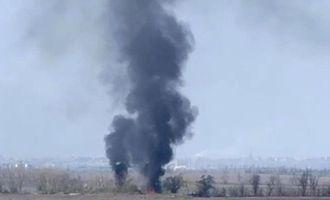 На Донбассе горят позиции ВСУ: волонтер показала фото