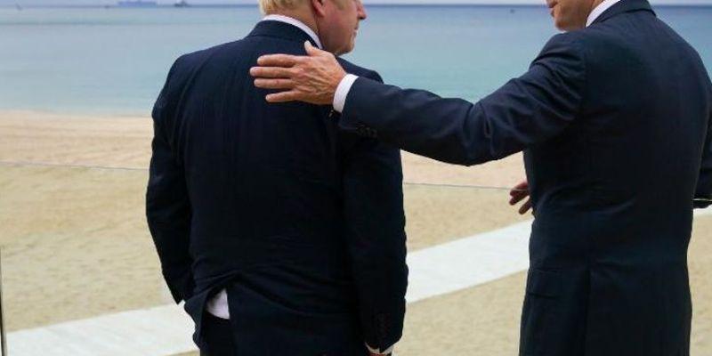 """""""Зеленіші від пандемії"""": Джонсон привітав Байдена під час візиту до Великої Британії"""