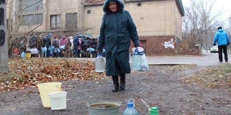 Более 75 тыс жителей Донецкой области вторые сутки остаются без воды