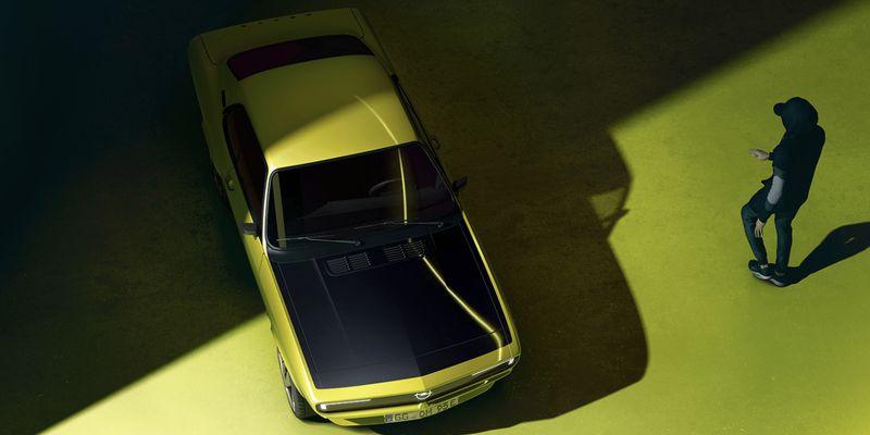 Opel Manta 1970 року переведуть на електротягу: як виглядатиме культова модель