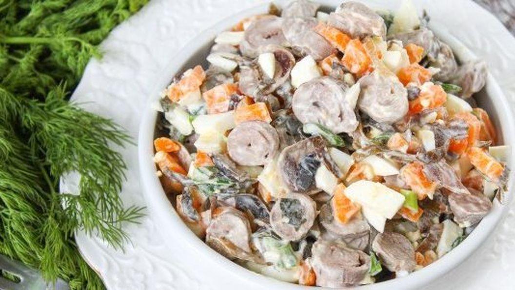 10 простых салатов из морской капусты