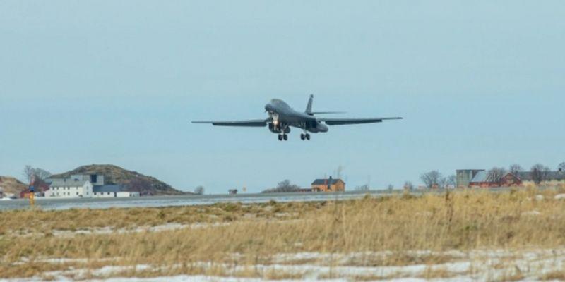 В Норвегии впервые разместили американские стратегические бомбардировщики