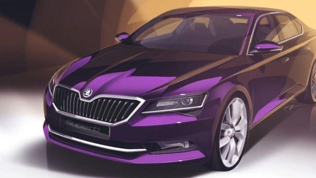 Skoda розкрила нові подробиці про модель Superb