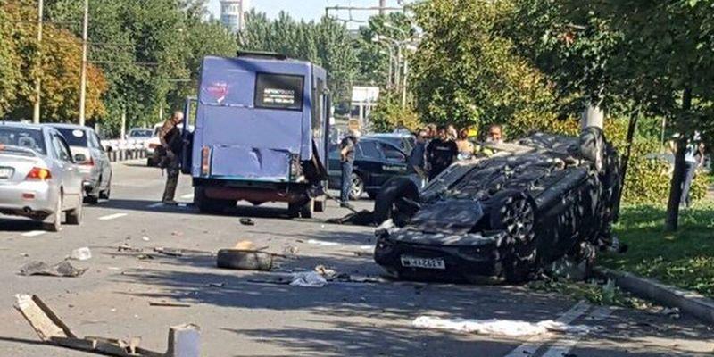 Смертельное ДТП случилось в Донецке