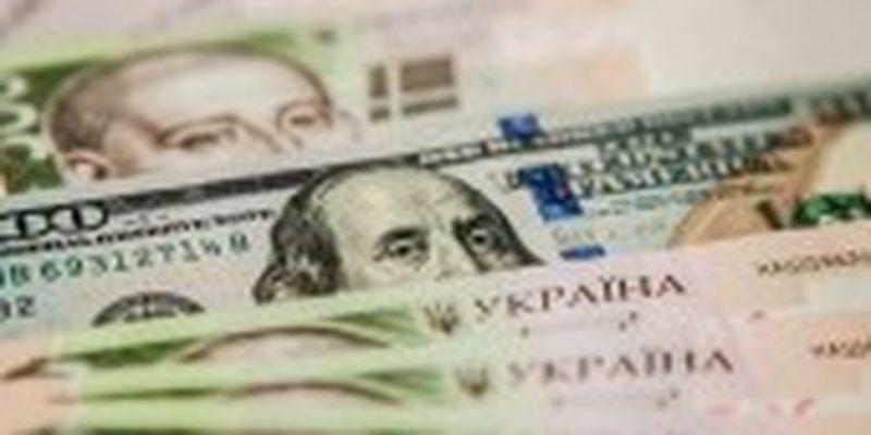 Офіційний курс гривні встановлено на рівні 27,40 грн/долар