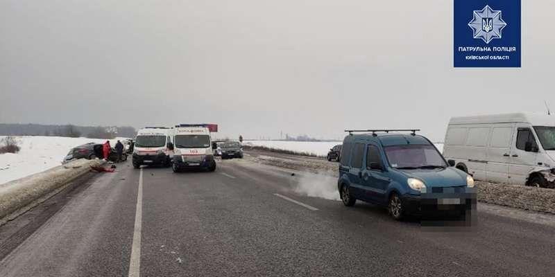Недалеко от Киева случилось жуткое ДТП