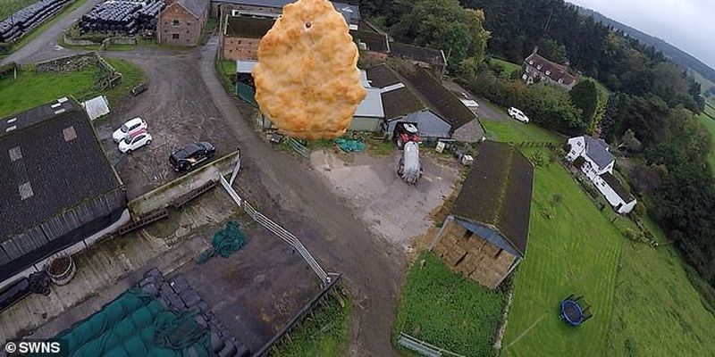 Британці запустили в космос курячий наггетс