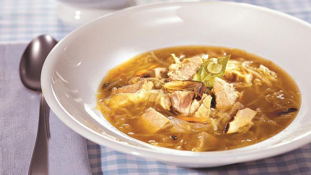 3 супа, которые помогут похмелиться