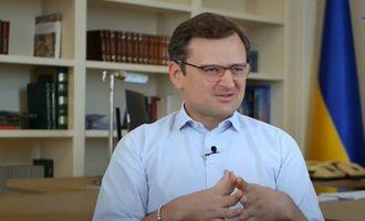 Кулеба раскритиковал смягчение позиций Меркель и Макрона в отношении Путина