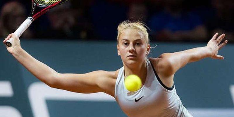 Юна українка виграла номінацію удар-місяця в світовому тенісі