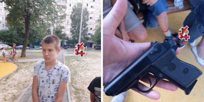 Школьник устроил стрельбу на детской площадке в Харькове, есть пострадавшие