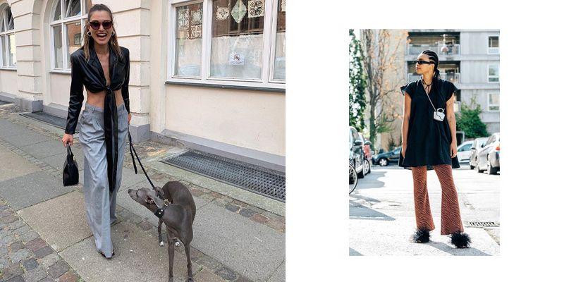 Стритстайл переместился в инстаграм. Смотрите, что носили гости Недели моды в Копенгагене