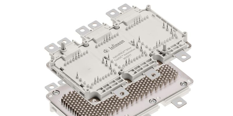 Infineon Technologies знайшла заміну кремнію в нових продуктивих силових модулях для електромобілів