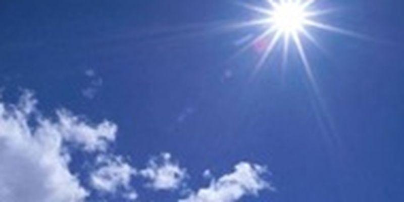 Погода на неделю: солнце и плюсовая температура
